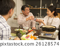 Nabe烹饪晚餐形象 26128574