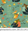autumn pattern vector 26131141