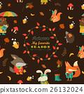 autumn pattern vector 26132024