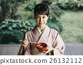 穿著和服 日式服裝 和服 26132112