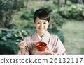 穿著和服 日式服裝 和服 26132117