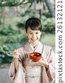 穿著和服 日式服裝 和服 26132121