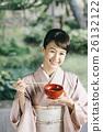 穿著和服 日式服裝 和服 26132122