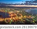 函館 夜景 城市景觀 26136679