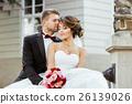 婚禮 夫婦 一對 26139026
