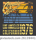 California Venice beach typography, t-shirt design 26139441