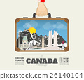Hand carrying canada Landmark Global Travel  26140104