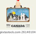 Hand carrying canada Landmark Global Travel  26140104