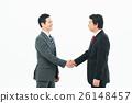 摇动 握手 商务人士 26148457