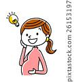 pregnant, woman, gravid 26153197