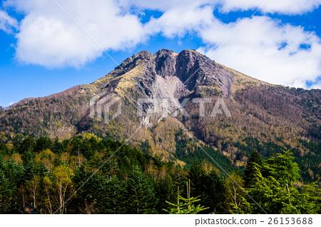 成層火山複式火山座日本著名的山...