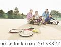 熱身運動 網球 伸展 26153822