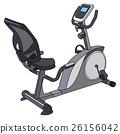 training gym, fitness machine, gym 26156042