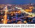 Yekaterinburg aerial panoramic view 26156565