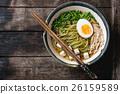 Asian noodle soup 26159589