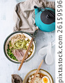 Asian noodle soup 26159596