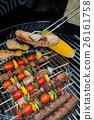 食物 食品 烧烤 26161758