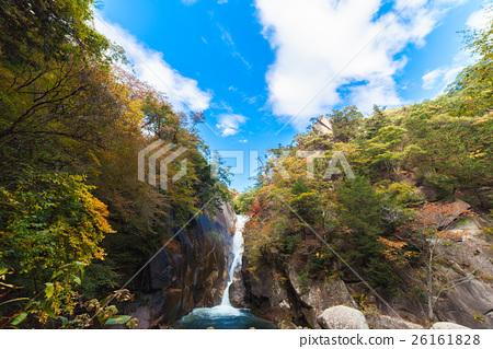 升仙峡谷 森加瀑布 瀑布 26161828