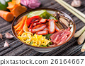 Fried rice mixed with charsiu 26164667