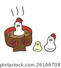 닭, 일본 떡국, 일본식 떡국 26166708