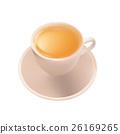 Porcelain white tea Cup 26169265