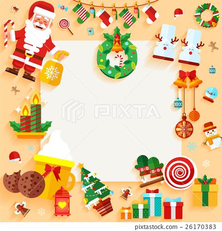 Christmas banner design greeting card 26170383