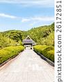 Approach to Rurikoji Temple in Yamaguchi, Japan  26172851