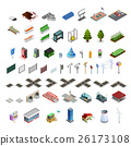 City Map Constructor Isometric Elements Collection 26173108