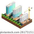 Construction Isometric Composition 26173151