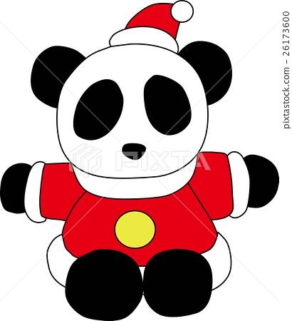 熊貓聖誕老人 26173600
