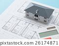 บ้านวาดและบ้านและเครื่องคิดเลข 26174871