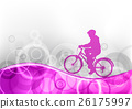 purple bicycle 26175997