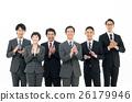 商务人士 商人 男性白领 26179946