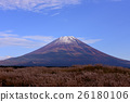 富士山 日本蒲葦 牧場 26180106