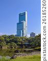 일본 정원, 아베노하루카스, 초고층 빌딩 26185260
