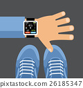 tracker, smartphone, fitness 26185347