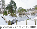 秋田的雪域景观与千秋公园胡菲克女神日本花园的味道 26191004