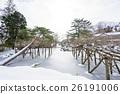 秋田的雪域景观与千秋公园胡菲克女神日本花园的味道 26191006