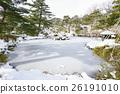 秋田的雪域景观与千秋公园胡菲克女神日本花园的味道 26191010