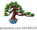 日本 盆栽 植物 26196529