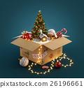 christmas, gift, box 26196661