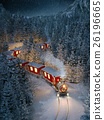 Amazing cute christmas train 26196665