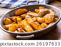 Roasted potatoes. American potatoes with cummin. 26197633