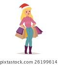 vector shopping customer 26199614