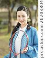 테니스, 여성, 여자 26203804