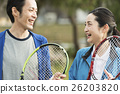 运动 网球 夫妇 26203820