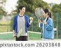 网球 人 人物 26203848