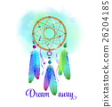 Dreamcatcher, vector illustration 26204185