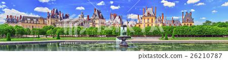 Suburban Chateau Fontainbleau outdoor. 26210787