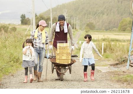 生活在該國的家庭移民形象 26211678